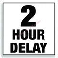 Two Hour Delay Schedules image