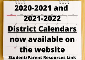 District Calendars Now Available