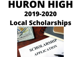 Huron High Local Scholarships 2019-2020