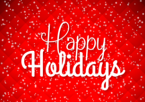 Holiday Message from Dennis Muratori, Superintendent