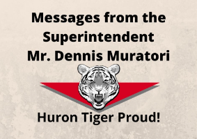 Messages from the Desk of the Superintendent
