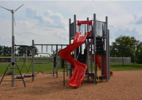 Woodlands New Playground