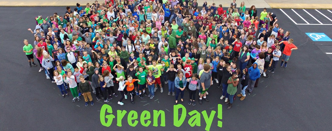Huron Schools Celebrate Green Day