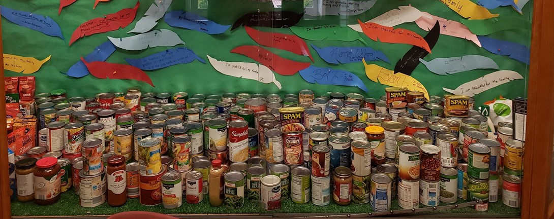cans of food