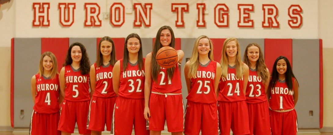 Huron girls basketball