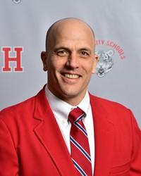 Photo Tim Lamb, Principal Huron High